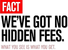No Hidden Fees on Rental Cars