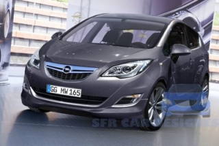 Opel Corsa 2015-2017 Car Rental in Rethymnon, Crete