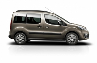 Citroen Berlingo 2017-2019 Car Rental in Rethymnon, Crete