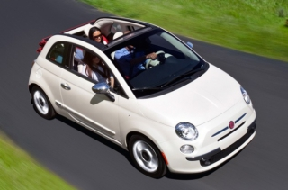 Fiat 500 2015-2016 Car Rental in Rethymnon, Crete