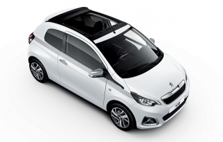Peugeot 108 2016-2017 Car Rental in Rethymnon, Crete