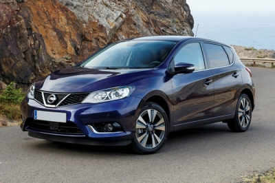 Nissan Pulsar 2017-2019 Turbo 115ps location de voiture a Rethymnon, Crete