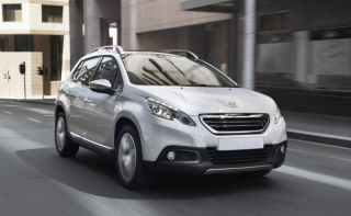 Peugeot 2008 2016-2017 90PS Car Rental in Rethymnon, Crete