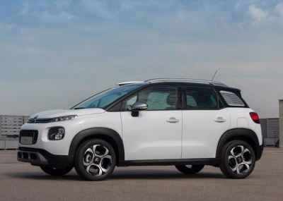 Citroen Aircross turbo 110ps 2018 location de voiture a Rethymnon, Crete